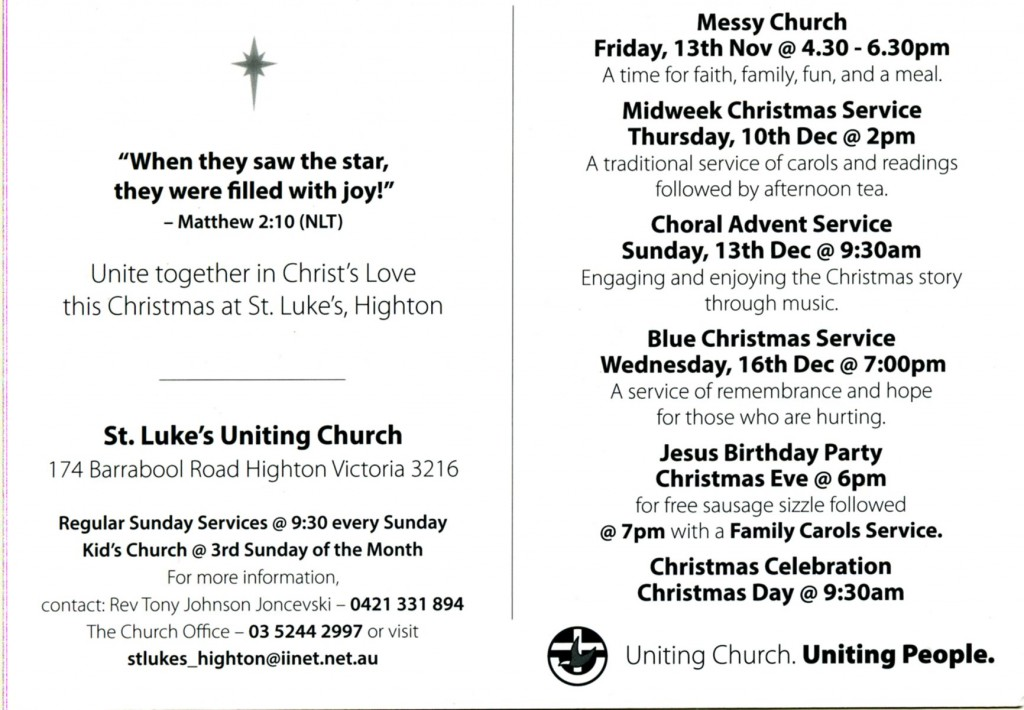 Christmas services 2015001